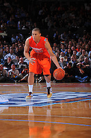 Syracuse guard Brandon Triche #25 during the 2K Sports Classic at Madison Square Garden. (Mandatory Credit: Delane B. Rouse/Delane Rouse Photography)