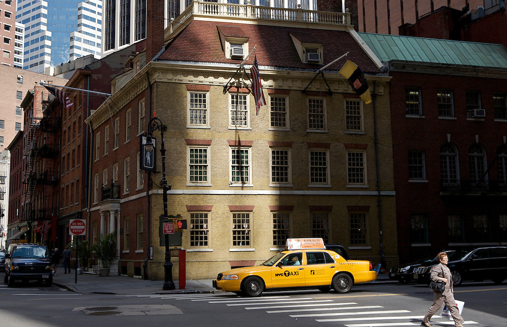 UNITED STATES-NEW YORK-Old and new buildings. PHOTO: GERRIT DE HEUS.VERENIGDE STATEN-NEW YORK. Oude en nieuwe gebouwen. PHOTO  GERRIT DE HEUS