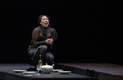 11.04.2019, Große Universitätsaula, Salzburg, AUT, Salzburger Osterfestspiele, Fotoprobe, Kammeroper Therese (Oper von Emile Zola), im Bild Marisol Montalvo als Therese // during the rehearsal of the Chamber opera Therese (opera by Emile Zola). The Salzburg Easter Festival takes place from 13 April to 23 April 2019, at the Große Universitätsaula in Salzburg, Austria on 2019/04/11. EXPA Pictures © 2019, PhotoCredit: EXPA/ Ernst Wukits