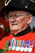 Chelsea Pensioner on Founder's Day Parade, London, United Kingdom.