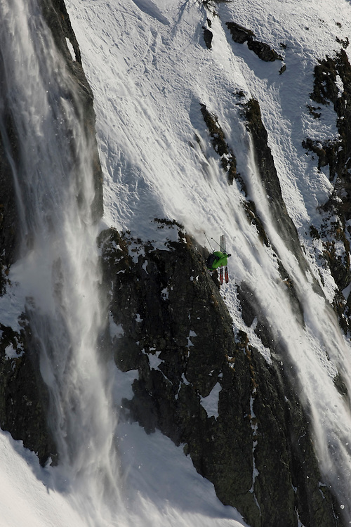 Location Brévent, rider Aurelien Duroz,  Copyright OutdoorGames.org/CMargot