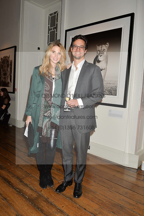 ANDREA & BRIDGET CARNELLI at a private view of photographs by renowned wildlife photographer David Yarrow in aid of TUSK entitled 'Wild Encounters' held at Somerset House on 19th September 2016.