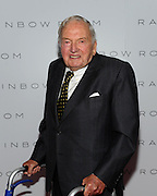 David Rockefeller attends the opening of the historic Rainbow Room at 30 Rockefeller Plaza, Wednesday, Oct. 1, 2014 in New York. (Photo by Diane Bondareff/Invision for Tishman Speyer/AP Images)