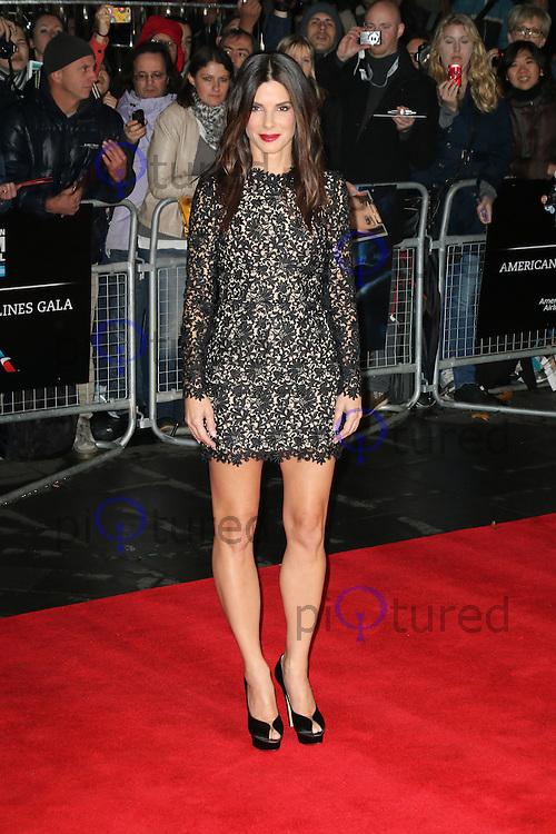 Sandra Bullock, The BFI London Film Festival: Gravity, Odeon Leicester Square, London UK, Photo by Richard Goldschmidt