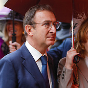 ITA/Parma/20120929- Doop prinses Luisa Irene, Hans Gualtherie van Weezel