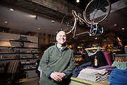 Portrait of Anthony Thompson, CEO of Fat Face in Southampton on March 21 2014.