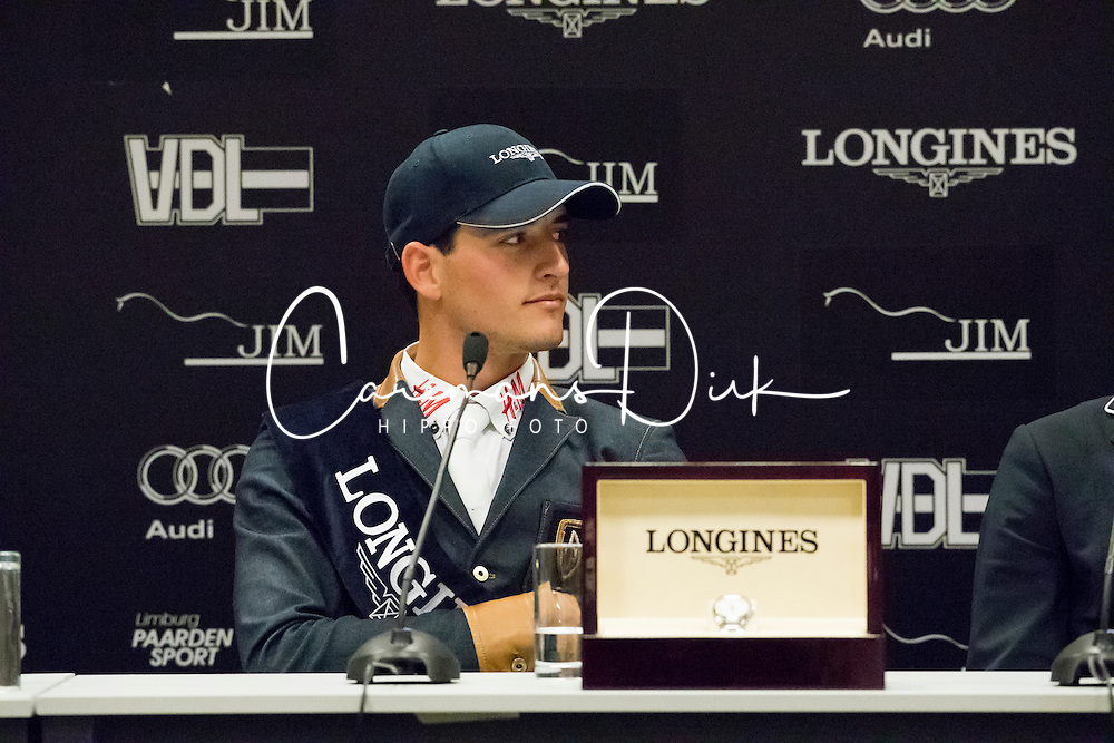 Philippaerts Nicola, BEL<br /> Longines Trpohy -  Grand Prix of Maastricht<br /> Jumping Indoor Maastricht 2016<br /> © Hippo Foto - Dirk Caremans<br /> 13/11/2016