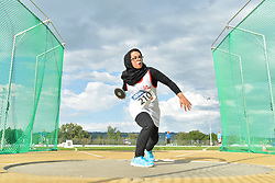 05/08/2017; Abdollahi, Saeideh, F44, IRI at 2017 World Para Athletics Junior Championships, Nottwil, Switzerland