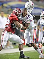 Alabama running back Mark Ingram during The University of Florida Gators vs Alabama Crimson Tide for the SEC Championship Game at the Georgia Dome in Atlanta, Georgia on December 5, 2009..