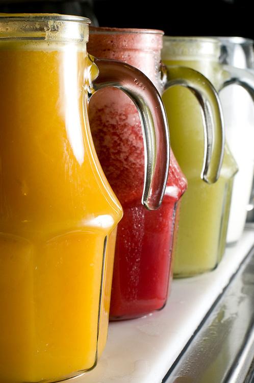 Belo Horizonte_MG, Brasil.<br /> <br /> Cafe da manha self service na Casa Infinita Emporio em Belo Horizonte, Minas Gerais.<br /> <br /> The self service breakfast  in Casa Infinita Emporio in Belo Horizonte, Minas Gerais.<br /> <br /> Foto:  DANIEL CERQUEIRA / NITRO