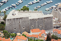 21.06.2015, Dubrovnik, CRO, Dubrovnik ist eine Stadt im südlichen Kroatien an der Adria, im Bild Panoramic view of Dubrovnik from Srdj Mountain. Revelin fortress // is a city in southern Croatia on the Adriatic Sea, pictured on 17. June in Dubrovnik, Croatia on 2015/06/21. EXPA Pictures © 2015, PhotoCredit: EXPA/ Pixsell/ Grgo Jelavic<br /> <br /> *****ATTENTION - for AUT, SLO, SUI, SWE, ITA, FRA only*****