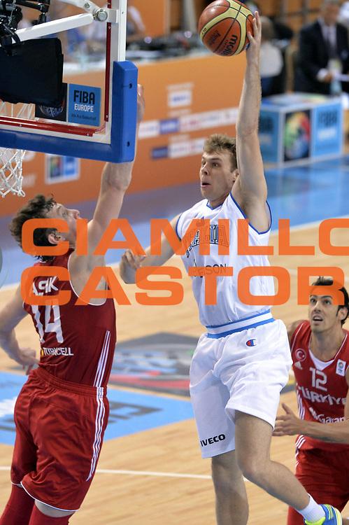 DESCRIZIONE : Capodistria Koper Slovenia Eurobasket Men 2013 Preliminary Round Italia Turchia Italy Turkey<br /> GIOCATORE : Nicolo Melli<br /> CATEGORIA : Tiro Sequenza<br /> SQUADRA : Italia<br /> EVENTO : Eurobasket Men 2013<br /> GARA : Italia Turchia Italy Turkey<br /> DATA : 05/09/2013<br /> SPORT : Pallacanestro&nbsp;<br /> AUTORE : Agenzia Ciamillo-Castoria/GiulioCiamillo<br /> Galleria : Eurobasket Men 2013 <br /> Fotonotizia : Capodistria Koper Slovenia Eurobasket Men 2013 Preliminary Round Italia Turchia Italy Turkey<br /> Predefinita :