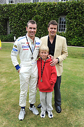 Left to right, brothers PAUL STEWART and MARK STEWART with Paul's son ZAC STEWARTat the Cartier Style et Luxe, the Goodwood Festival of Speed, West Sussex on 13th July 2008.<br /> <br /> NON EXCLUSIVE - WORLD RIGHTS