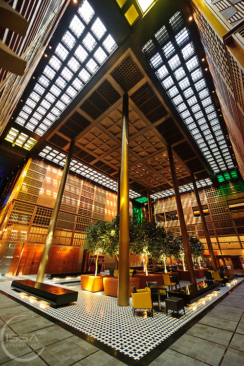 The Main atrium of AlSouq AlMarkazy in Abu Dhabi