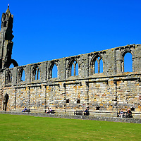 Nave Wall at St Andrews Cathedral, Scotland<br />