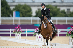 Gowanlock Ashley (CAN) - Maile<br /> Team Test - Grade Ib - Dressage <br /> London 2012 Paralympic Games<br /> © Hippo Foto - Jon Stroud