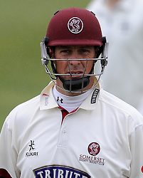 Somerset's Marcus Trescothick - Photo mandatory by-line: Harry Trump/JMP - Mobile: 07966 386802 - 02/04/15 - SPORT - CRICKET - Pre Season Fixture - Day One - Somerset v Durham MCCU - Taunton Vale Cricket Ground, Somerset, England.