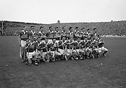 All-Ireland Hurling Final, Wexford v Tipperary, at Croke Park. Tipperary Team..02.09.1962