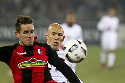 January 20, 2017 - Freiburg, Germany - Arjen Robben 10 during the German first division Bundesliga football match SC Freiburg vs FC Bayern Munich in Freiburg, Germany, on January 20, 2017. (Credit Image: © Elyxandro Cegarra/NurPhoto via ZUMA Press)