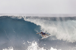 December 8, 2017 - Oahu, Hawaii, U.S. - - Reef Heazlewood of Australia placed fourth in Heat 1 of Round One of the Quarter Finals of the Pipe Invitational at Pipe, Oahu. (Credit Image: © WSL via ZUMA Wire/ZUMAPRESS.com)