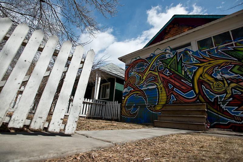 Wreck City. Calgary, Canada