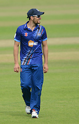 Benny Howell of Gloucestershire - Mandatory byline: Dougie Allward/JMP - 07966386802 - 02/08/2015 - Cricket - County Ground -Bristol,England - Gloucestershire CCC v Somerset CCC - Royal London One-Day Cup