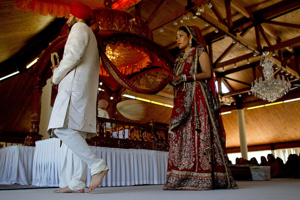 Avani and Puneet are married in Chicago, Saturday, July 7, 2012. Photo by Justin Edmonds