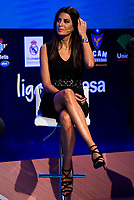 Tv host Milena Martín during the presentation of the new season of La Liga Endesa 2016-2017 in Madrid. September 20, 2016. (ALTERPHOTOS/Borja B.Hojas)