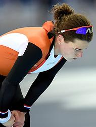16-02-2014 SCHAATSEN: OLYMPIC GAMES: SOTSJI<br /> Ireen Wust pakt zilver op de 1500 meter<br /> ©2014-FotoHoogendoorn.nl