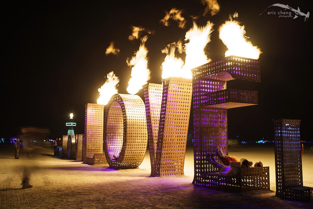 LOVE. Burning Man 2014.