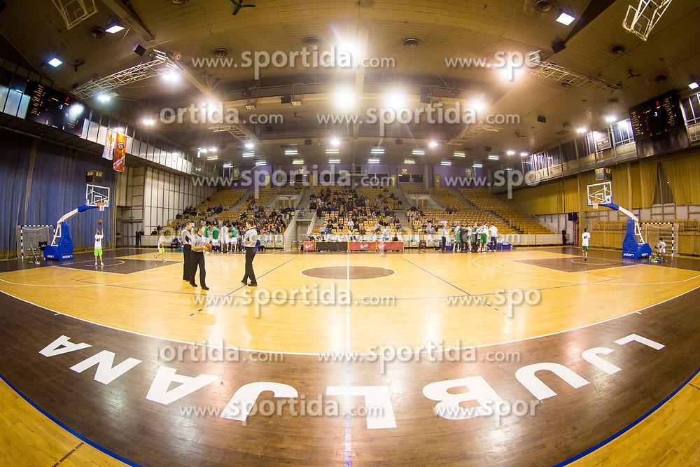 Hala Tivoli during basketball match between KK Ilirija and KK Krka in Round #5 of Liga Nova KBM 2017/18, on November 4, 2017 in Hala Tivoli, Ljubljana, Slovenia. Photo by Ziga Zupan / Sportida