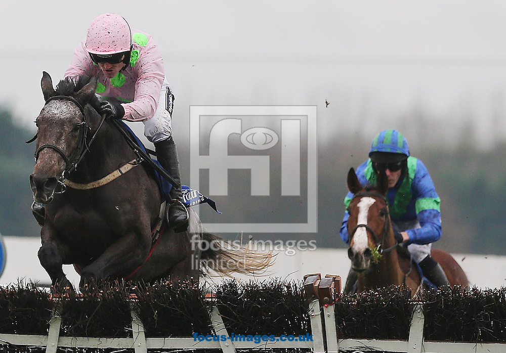 Ruby Walsh on Kalkir wins the Bar one Racing juvenile 3-Y-O Hurdle at Fairyhouse Racecourse, Ratoath<br /> Picture by Lorraine O'Sullivan/Focus Images Ltd +353 872341584<br /> 30/11/2014