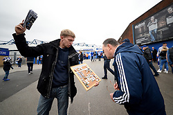 Birmingham City fans arrive at the ST Andrews stadium ahead of the local rival between Birmingham City v Aston Villa - Mandatory by-line: Dougie Allward/JMP - 30/10/2016 - FOOTBALL - St Andrew's Stadium - Birmingham, England - Birmingham City v Aston Villa - Sky Bet Championship