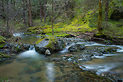 Beaver Creek in the Applegate Valley of Rogue River National Forest, Oregon.