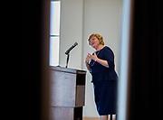 Christina Romer, former economic adviser of Barack Obama, at the 25th Economics Symposium. Photo by Libby Kamrowski