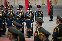 BEIJING, 20170407: Innovasjon Norge Beijing. Statsminister Erna Solberg har kommet, og businessmøtene startet med signeringer mellom norske og kinesiske interesser.  FOTO: TOM HANSEN
