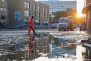 Floods in Wick Road, London