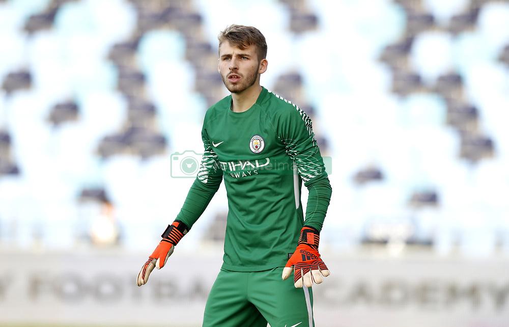 Manchester City's goalkeeper Daniel Grimshaw