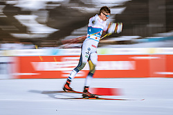 21.02.2019, Langlauf Arena, Seefeld, AUT, FIS Weltmeisterschaften Ski Nordisch, Seefeld 2019, Langlauf, Herren, Sprint, im Bild Calle Halfvarsson (SWE) // Calle Halfvarsson of Sweden during the men's Sprint competition of the FIS Nordic Ski World Championships 2019. Langlauf Arena in Seefeld, Austria on 2019/02/21. EXPA Pictures © 2019, PhotoCredit: EXPA/ Dominik Angerer