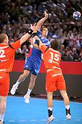 DESCRIZIONE : France Tournoi international Paris Bercy Equipe de France Homme France Islande 17/01/2010<br /> GIOCATORE : Guigou Michael<br /> SQUADRA : France<br /> EVENTO : Tournoi international Paris Bercy<br /> GARA : France Islande<br /> DATA : 17/01/2010<br /> CATEGORIA : Handball France Homme Action<br /> SPORT : HandBall<br /> AUTORE : JF Molliere par Agenzia Ciamillo-Castoria <br /> Galleria : France Hand Homme 2009/2010  <br /> Fotonotizia : France Tournoi international Paris Bercy Equipe de France Homme France Islande 17/01/2010 <br /> Predefinita :