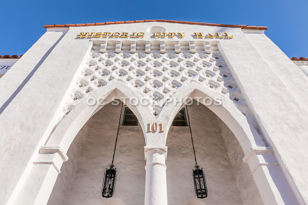 Historic City Hall Building in San Clemente