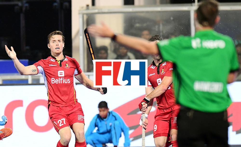 Odisha Men's Hockey World League Final Bhubaneswar 2017<br /> Match id:18<br /> Belgium v Spain<br /> Foto: Tom Boon (Bel) <br /> COPYRIGHT WORLDSPORTPICS FRANK UIJLENBROEK
