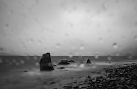 SCOTLAND - CIRCA APRIL 2016: Rainy afternoon over Elgol in Skye an Island in Scotland