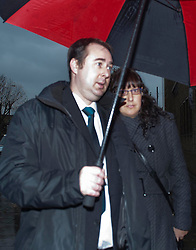 Ashley Gill-Webb, who is  accused of throwing a bottle onto the track at the London 2012 Olympic Games, arrives at Thames magistrates court in London, Wednesday, 21st November 2012  Photo by: i-Images