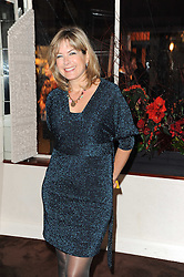 PENNY SMITH at a party to celebrate the 40th anniversary of Julie's Bar & Restaurant, 135 Portland Road, London W11 on 18th November 2010.