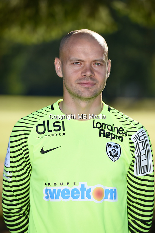 Sergey Chernik of Nancy poses for a portrait during the Nancy squad photo call for the 2016-2017 Ligue 1 season on August 25, 2016 in Nancy, France<br /> Photo : Fred Marvaux / Icon Sport