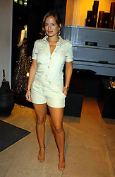 JADE JAGGER at a party to celebrate the first 20 years of fashion label Donna Karan held at her store at 19/20 New Bond Street, London W1 on 21st September 2004.<br /><br />NON EXCLUSIVE - WORLD RIGHTS
