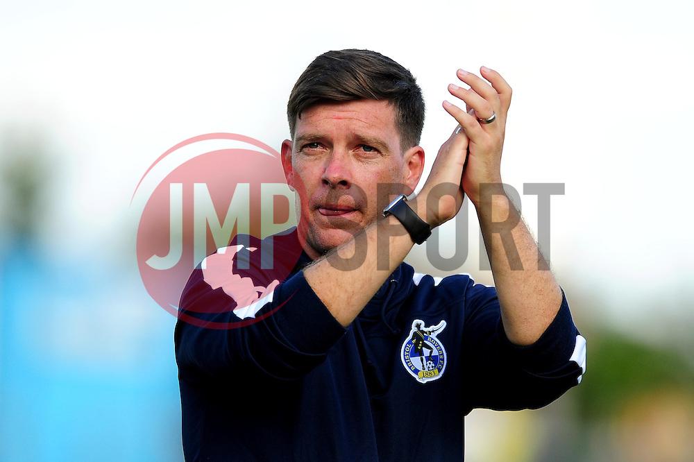 Darrell Clarke manager of Bristol Rovers - Mandatory by-line: Dougie Allward/JMP - 14/08/2016 - FOOTBALL - Memorial Stadium - Bristol, England - Bristol Rovers v Oxford United - Sky Bet League One