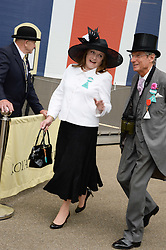 LEONORA, COUNTESS OF LICHFIELD at the 2nd day of the 2013 Royal Ascot Horseracing festival at Ascot Racecourse, Ascot, Berkshire on 19th June 2013.