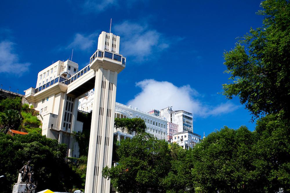 Salvador_BA, Brasil...O Elevador Lacerda em Salvador, capital da Bahia...The Lacerda Elevator in Salvador, Bahia capital...Foto: JOAO MARCOS ROSA / NITRO
